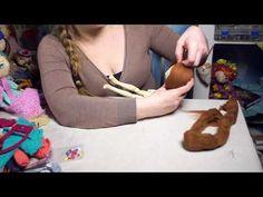 (1) Ароматизированная текстильная кукла 2 часть - YouTube