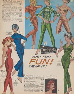 Fredrick's of Hollywood 1964