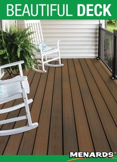 UltraDeck Inspire has dramatic color variations resulting in no two boards looking the same, giving you a unique deck. Inspire decking not only looks beautiful, but it's been designed with the most durable materials, making it scratch and fade resistant. Patio Steps, Composite Decking, Landscaping, Boards, Inspire, Unique, Outdoor Decor, Projects, Color