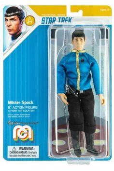 "Marty Abrams MEGO Star Trek Wrath of Khan//Captain Spock 8/"" MOC Wave 7"