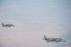 US boosts Air Force presence over Iraq. 2x F-15, 2x AV-8B Harrier, and one B-52 were flying there today