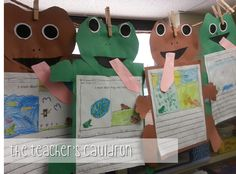 The Teachers' Cauldron: More Frog and Toad compare/contrast