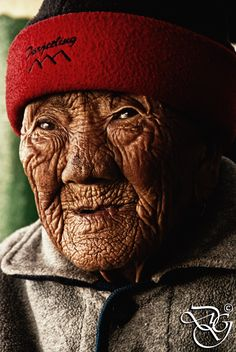 """""""I am almost a hundred years old; waiting for the end, and thinking about the beginning."""" - Meg Rosoff / The Wrinkled Old Lady by Diganta Gogoi on 500px"""