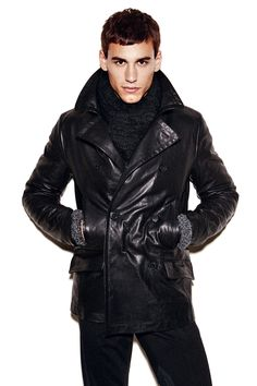 Dolce & Gabbana Fall/Winter 2014 Mens Look Book image Dolce and Gabbana Fall Winter 2014 Men Look Book Model Images 074