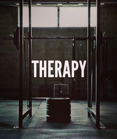 my therapy is crossfit! #fitspo