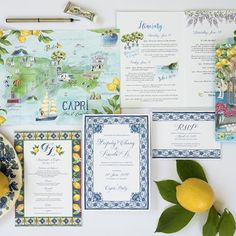 Many couples opt for a destination wedding today and lots of them choose Mediterranean countries and coasts for tying the knot. Italian Wedding Invitations, Beach Wedding Invitations, Wedding Invitation Wording, Wedding Stationary, Custom Invitations, Party Invitations, Wedding Paper, Wedding Cards, Wedding Bells