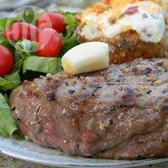 Barbecued Garlic Steaks @ allrecipes.com.au
