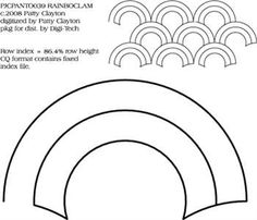Baptist Fan Pantograph by Jessica Schick JSPANTO09