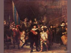 The Night Watch at the Rijks Museum in Amsterdam. At the time I was there, this was my favorite painting.