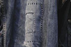 Repaired. #wearandtear #vintage #denim