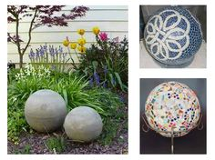 Using History Stones concrete molds is not only an affordable and simple option for creating garden art, but you may customize your creations by using concrete colorants, stains, mosaics. The ideas are endless! Concrete spheres have been used for ages as finials on posts, pillars and walls and now often find themselves as architectural relics in all styles.