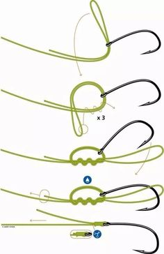 How to tie a fishing line