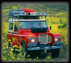 """Love the color and Australians have figured out how to harvest """"red"""". Of course, it looks like it's never been used. Land Rover Off Road, Old Fat, Automobile, Land Rover Series 3, Best 4x4, Classic Trucks, Land Rover Defender, Cool Trucks, Rat Rods"""