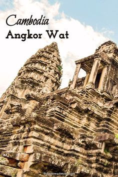 Visit Angkor Wat in Cambodia for one of the most beautiful and massive religious complexes.