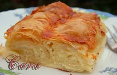 Gabriela's blog: PLACINTA DOBROGEANA Romanian Food, Romanian Recipes, Dessert Recipes, Desserts, Side Dishes, Sweet Tooth, Cabbage, Sweet Treats, Food And Drink