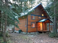 Glacier Springs Cabin 45 - A Cozy Family Cabin!  Pets Welcome!