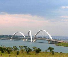 Juscelino Kubitschek Bridge, Brasilia, #Brazil // Spectacular Bridges Around the World