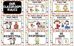 I've had a lot of requests to change my 6 Rules packet to meet individual classroom needs.  While I would LOVE to be able to help every...