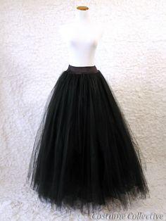 Black Tuille skirt. 8. 2014