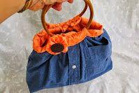 Tutorial - How to Refashion a Mans Shirt into a Hand Bag - Totally Tutorials