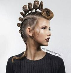 Hair Colour – My hair and beauty Creative Hairstyles, Up Hairstyles, Braided Hairstyles, Avant Garde Hairstyles, Pelo Editorial, Hair Arrange, Extreme Hair, Edgy Hair, Hair Reference