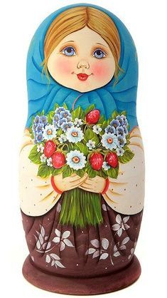 Matryoshka Doll, Kokeshi Dolls, Russian Folk, Russian Art, Fabric Dolls, Paper Dolls, Marionette, Wooden Dolls, Painted Rocks