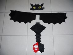 Toothless (How to train your dragon) costume for Book Week Parade. My daughter loves it.