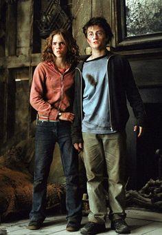 Hermione Granger_Emma Watson, Harry Potter_Daniel Radcliffe