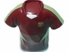 Arsenal Accessories  Arsenal FC Shirt Sweet ARSENAL FOOTBALL SHIRT COIN BANK WITH LOLLIPOPS AND BRACELETSOfficial MerchandiseIngredients : Dextrose maltodextrin Citric acid anti-caking agent E470b Flavouring Colours : E104 E110 E122 E132Weight  http://www.comparestoreprices.co.uk/football-shirts/arsenal-accessories-arsenal-fc-shirt-sweet.asp