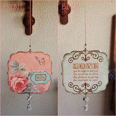 Pêndulo Believe #love #pêndulo #pendulum #mobile, #rosa, #rose #believe