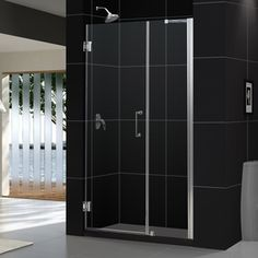 Dreamline Unidoor 56-In To 57-In Frameless Hinged Shower Door Shdr-205