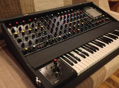 MATRIXSYNTH: MAPLIN 5600s vintage semimodular analog synthesizer with Original Manuals