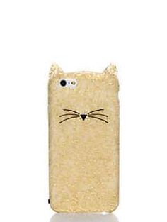 glitter cat iphone 6 case by kate spade new york