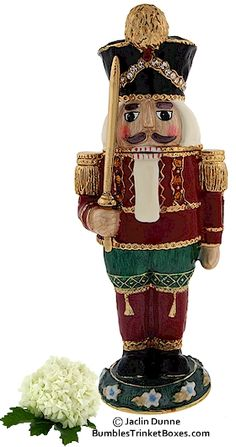 Trinket Box: Nutcracker