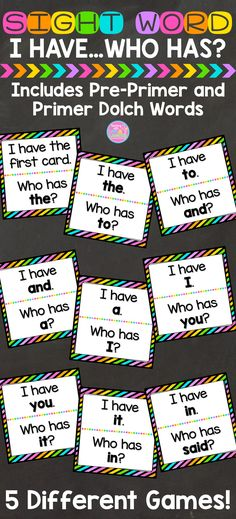 Review and practice sight words while playing a fun and exciting game! Perfect…