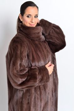 COLORED in Aubergine MINK FUR COAT FULL LENGTH FEMALES - NERZ VISON HOPKA | Clothing, Shoes & Accessories, Women's Clothing, Coats & Jackets | eBay!