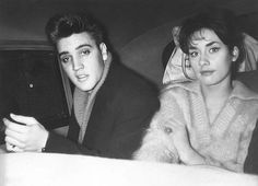 Elvis in Germany 1959 with Vera Tschechowa -