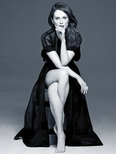 """If you're 50, you're never going to be 50 ever again, so enjoy being 50. If you sit through the year wishing you were younger, before you know it, it's going to be over, and you're going to be 51."" -Julianne Moore"