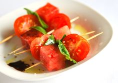 Tomato and Watermelon from @Adam + Joanne - Inspired Taste