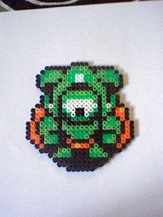 The Legend of Zelda Eyegore perler