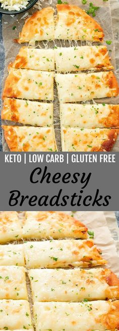 Diet Snacks These cheesy breadsticks are keto, low carb and gluten free. They are ready in about 30 minutes! - These cheesy breadsticks are keto, low carb and gluten free. They are easy to make and ready in about 30 minutes. MOZZARELLA CHEESE AND. Desserts Keto, Keto Snacks, Healthy Snacks, Keto Foods, Keto Diet Meals, Paleo Diet, Vegan Keto, Liw Carb Snacks, Keto Frozen Meals