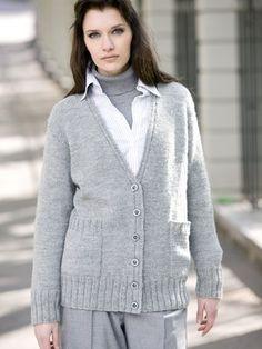 Diana Fashion, Knit Cardigan, Turtle Neck, Knitting, Sweaters, Cardigans, Tricot, Breien, Sweater Cardigan