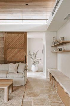 Minimalist Home Interior .Minimalist Home Interior Home Living Room, Living Room Decor, Living Spaces, Barn Living, Decor Room, Cozy Living, Dining Room, Home Interior Design, Interior Architecture
