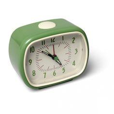 Alarm Clock Bakelite Green