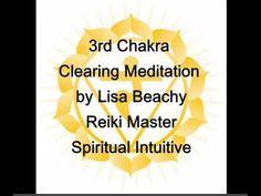 Clearing the 3rd Chakra Solar Plexus Chakra  Guided Meditation Video   ~ Lisa's website: https://www.LisaBeachy.com Join Lisa on Facebook: https://www.facebook.com/LBeachy  Do my meditations help? : http://www.patreon.com/meditationsformoms
