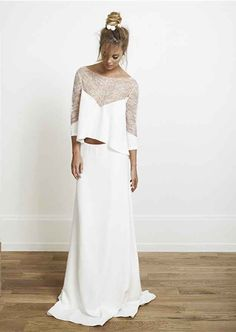This super-comfy long-sleeve Rime Arodaky gown. Absolutely Beautiful! <3