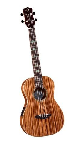 Luna Zebrawood Baritone. I'm loving this wood.  (*It is gorgeous!*)