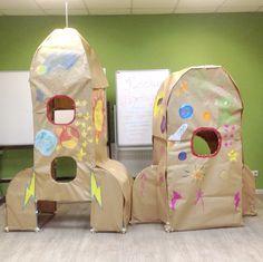Paper Rocket Fort!