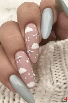 Gel Acrylic Nails, Acrylic Nail Designs, Cute Nails, Pretty Nails, Teen Nails, November Nails, 25 November, Nagellack Design, Nail Patterns