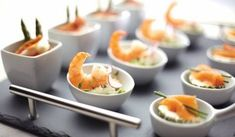 Amuses en (borrel)hapjes: klein maar o zo lekker! Snacks Für Party, Appetizers For Party, Delicious Appetizers, Lunch Catering, Cooking Recipes, Healthy Recipes, High Tea, Love Food, Foodies